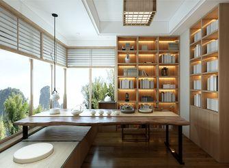 140平米三日式风格书房图