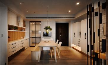140平米三室三厅日式风格餐厅图片
