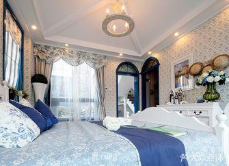 130平米复式地中海风格卧室装修图片大全