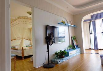 富裕型90平米三室一厅地中海风格健身室图片大全