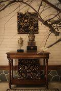 富裕型140平米别墅东南亚风格玄关图片大全