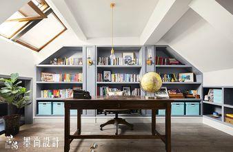 80平米现代简约风格阁楼效果图