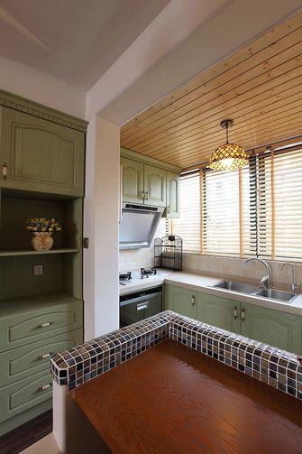 富裕型140平米四室一厅东南亚风格厨房图