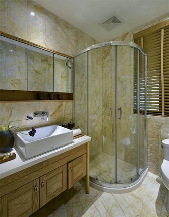 110平米三室两厅中式风格卫生间家具装修图片大全
