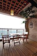 100平米东南亚风格阳台效果图