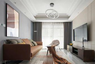 90平米三新古典风格客厅装修图片大全