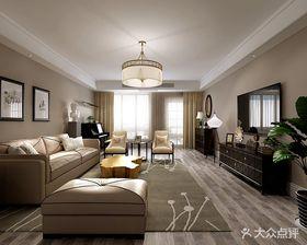 140平米別墅現代簡約風格客廳圖