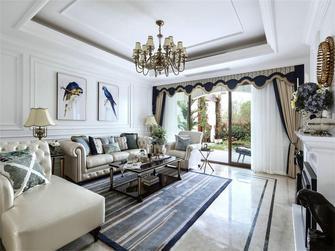 130平米一室一厅法式风格客厅欣赏图