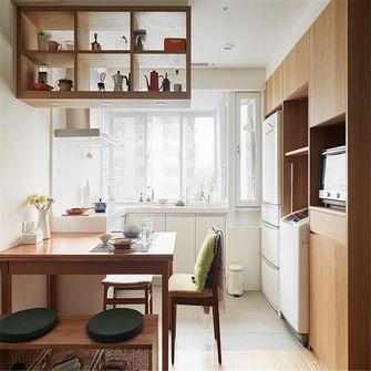 60平米公寓日式风格餐厅效果图