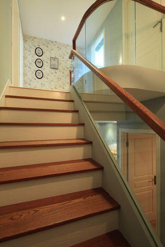 经济型140平米复式美式风格楼梯欣赏图