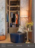 经济型120平米三室一厅中式风格衣帽间鞋柜图片大全