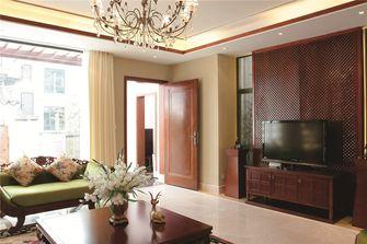 140平米三室三厅东南亚风格客厅装修案例