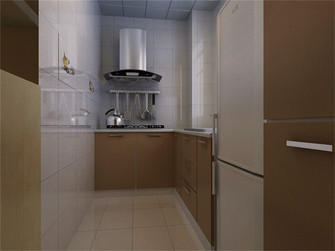 80平米现代简约风格厨房家具图片