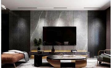 80平米三室两厅英伦风格客厅图片大全