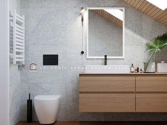 140平米复式日式风格卫生间效果图