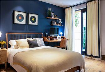140平米复式田园风格卧室图片