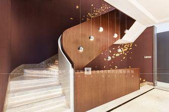 豪华型140平米别墅现代简约风格楼梯间装修案例
