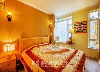 富裕型80平米混搭风格卧室图