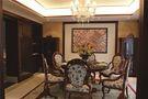 140平米三室三厅东南亚风格餐厅图片