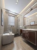 140平米复式中式风格卫生间图片