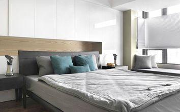 经济型140平米三室四厅美式风格卧室图片大全