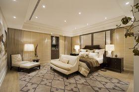 富裕型140平米三室兩廳混搭風格臥室設計圖