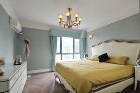 130平米三室兩廳美式風格臥室裝修案例