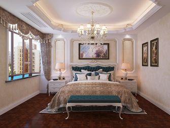 140平米四室三厅欧式风格卧室欣赏图