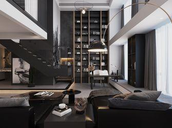 90平米复式混搭风格客厅装修案例