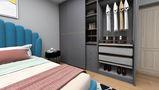 80平米一居室北欧风格卧室图