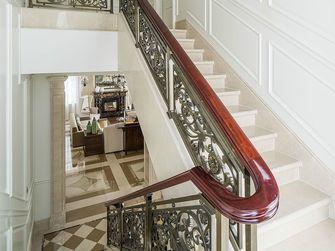 10-15万120平米三室一厅北欧风格楼梯图