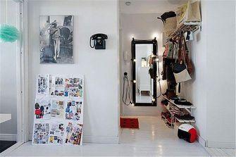 50平米一室一厅混搭风格客厅效果图