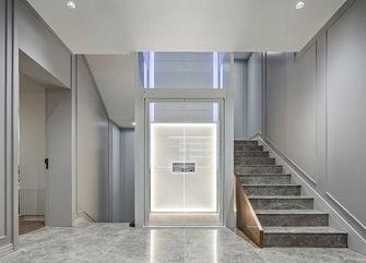 140平米别墅法式风格楼梯间效果图