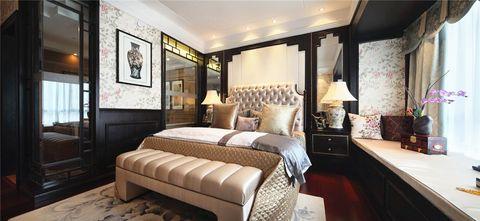 140平米四室四厅混搭风格卧室装修效果图