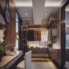 140平米別墅現代簡約風格衣帽間圖片大全
