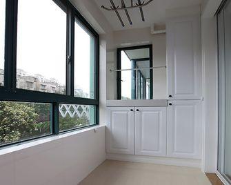 110平米三室一厅田园风格阳台效果图