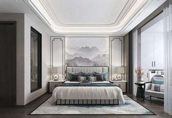 100平米三室一厅中式风格卧室装修图片大全