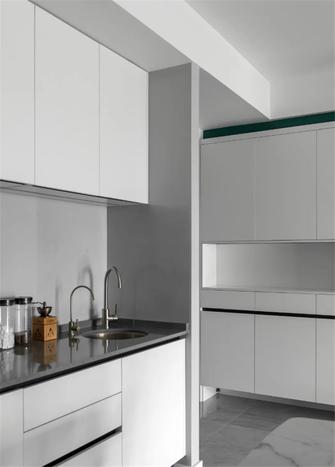 130平米三室两厅北欧风格厨房装修案例