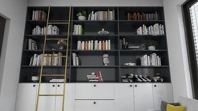 110平米复式北欧风格书房设计图
