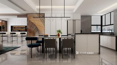 10-15万140平米四室五厅现代简约风格餐厅装修案例