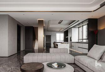 140平米四室一厅现代简约风格客厅效果图