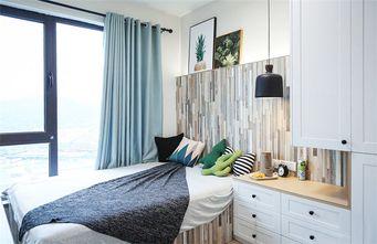 110平米北欧风格卧室背景墙图片大全