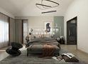 20万以上140平米别墅现代简约风格卧室装修案例