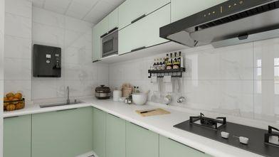 70平米北欧风格厨房设计图