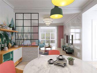 110平米三室两厅田园风格其他区域设计图