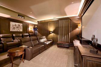 140平米四室两厅地中海风格影音室装修效果图