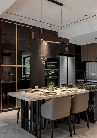 120平米三室两厅新古典风格餐厅装修案例