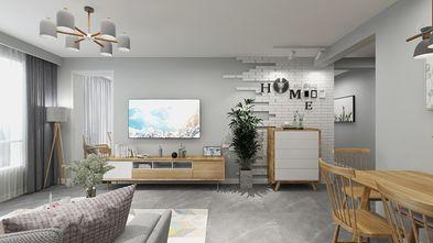 110平米田园风格客厅装修案例