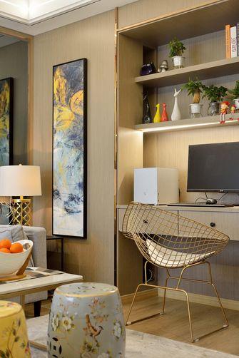 50平米一室两厅混搭风格书房装修图片大全