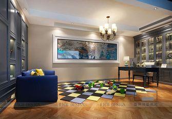 140平米别墅欧式风格书房装修效果图